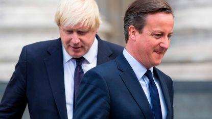"""Oud-premier David Cameron: """"De wet breken is geen goed idee"""""""