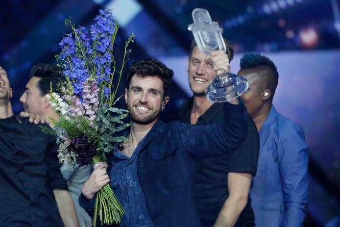 Duncan Laurence heeft gisteravond met zijn nummer Arcade het Eurovisiesongfestival gewonnen