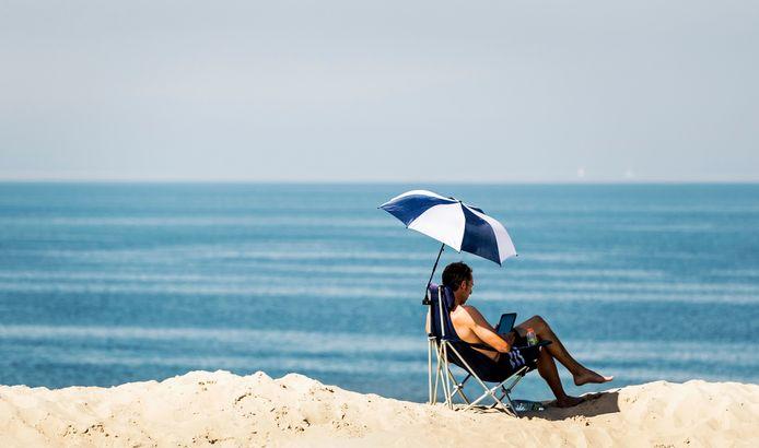 Dit weekend klimt de temperatuur weer richting de 25 graden. Misschien wel 26 in het oosten van Zeeland.