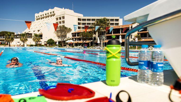 Een resort in Turkije Beeld null
