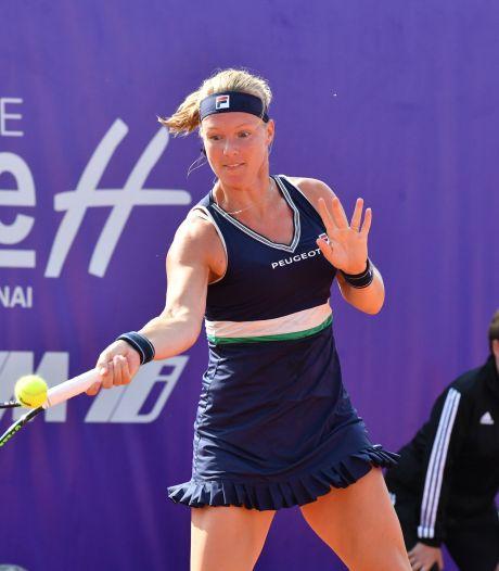 Bertens geeft op tegen Ostapenko en gaat zonder winstpartij naar Roland Garros