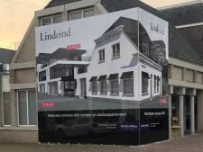 Bouwbord waar je niet omheen kunt: 'ABN AMRO' wordt Lindeind in Oisterwijk
