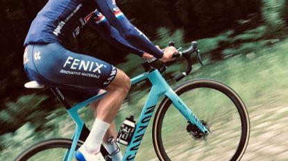 """Mathieu van der Poel verkent finale Parijs-Roubaix: """"Eerste keer in de hel"""""""