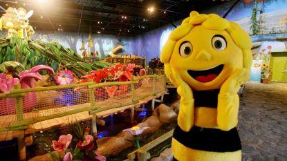 Vijftig Maya De Bijtjes openen lentetuin Wijnegem Shopping