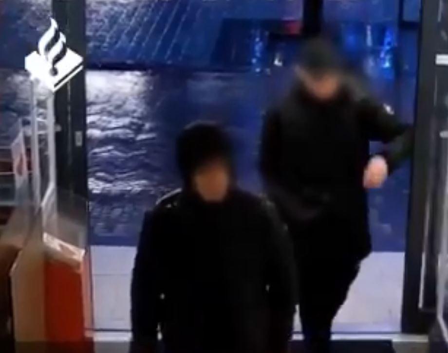 Still uit video van Politie Veenendaal.