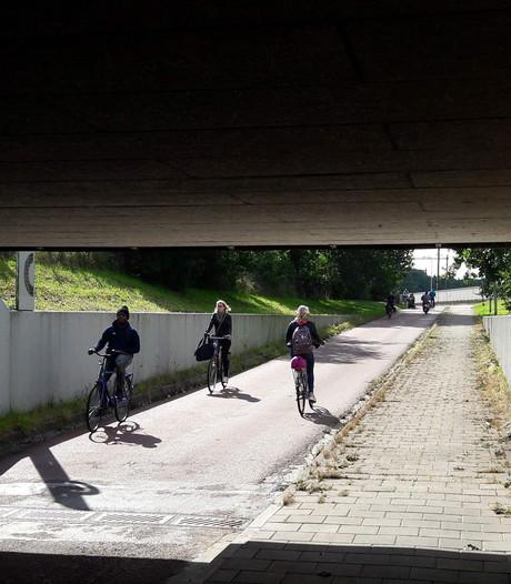 Gebruikers drukke Zwolse fietstunnel verbaasd over mishandeling