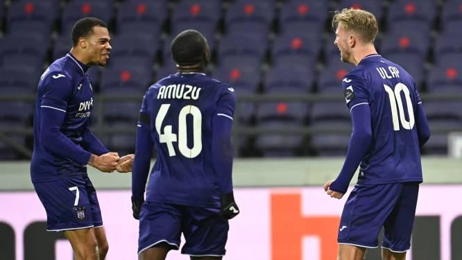 Anderlecht heeft geen kind aan onmondig Charleroi en springt naar plaats drie