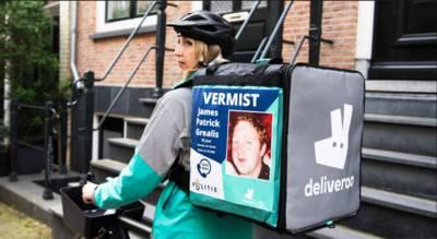 Maaltijdbezorgers Deliveroo helpen bij opsporen vermiste personen, ook in Breda
