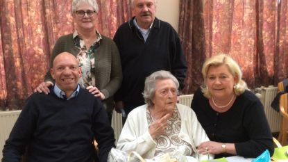 Elisabeth wordt 103: oudste inwoner van Nieuwkerken, vijfde oudste van Sint-Niklaas