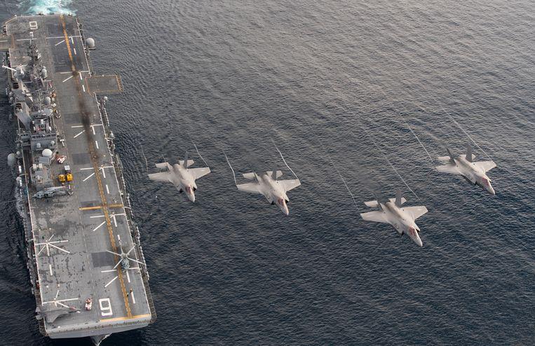 'Pacifistisch' Japan krijgt voor het eerst sinds einde Tweede Wereldoorlog vliegdekschepen