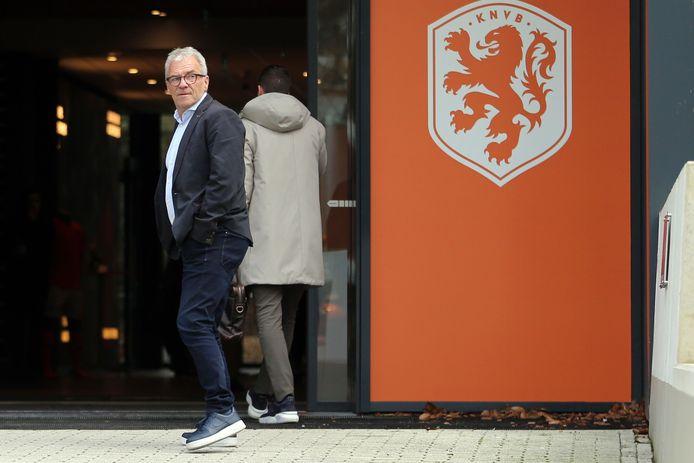 Directeur betaald voetbal Eric Gudde.