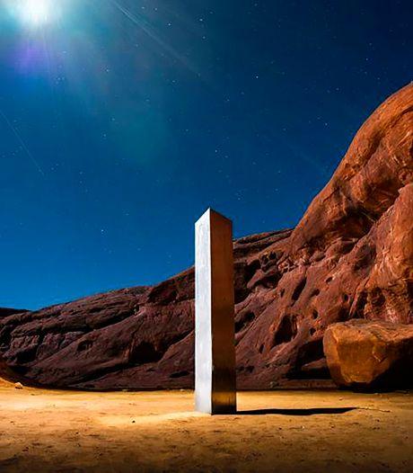 Un nouveau monolithe mystérieux apparait en Californie