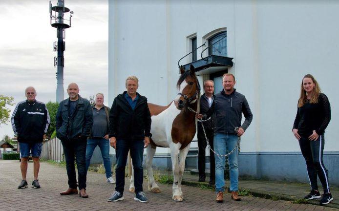 De organisatie van de Goorse Wintermarkt, met van links naar rechts Ate Brunnekreef, Rene Kamphuis, Hans Brunnekreef, Paul Reef, Wiljan van Regteren, Niek Hietbrink en Marriët de Beer.