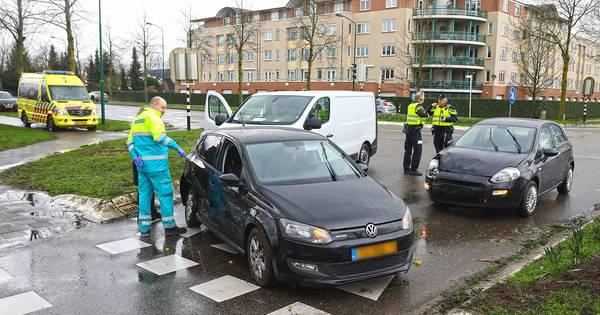 Twee ongelukken op één dag op Osse kruising.