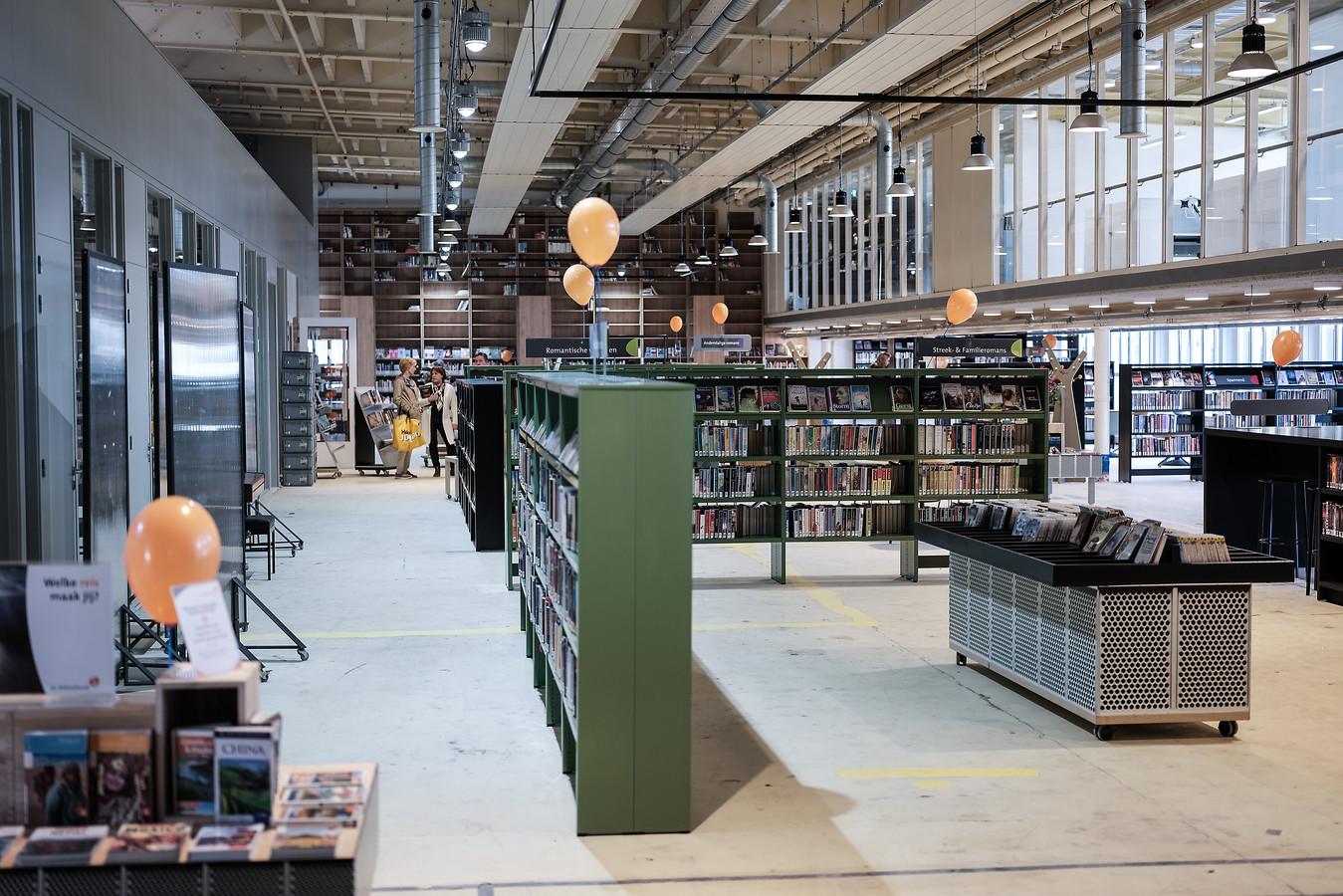 De bibliotheek is al gehuisvest in Hal12 in Zevenaar.