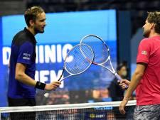 Medvedev verzekert zich als vierde van ATP Finals