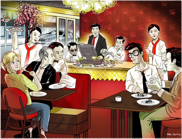 Illustratie Sumo, Eric Elich