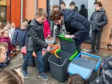 Vijf Zeeuws-Vlaamse basisscholen gaan afval scheiden