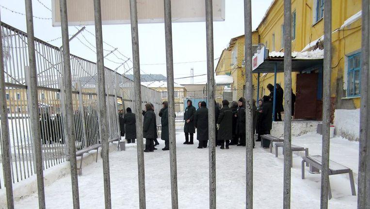 Een vrouwenkamp in de regio van Nizjni Novgorod. Beeld afp