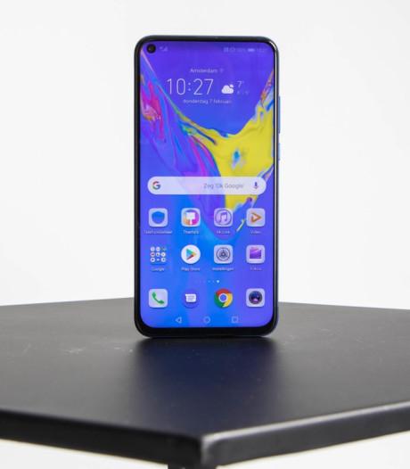 Deze telefoon heeft een gat in scherm in plaats van inkeping