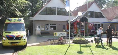 Domper voor Debby door brand nu camping Heidepark in Lemelerveld net op orde is voor het vakantieseizoen