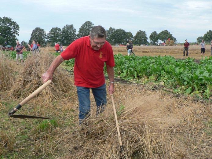 Met de 'zicht'oogsten door Wim van Heeswijk uit Boekel