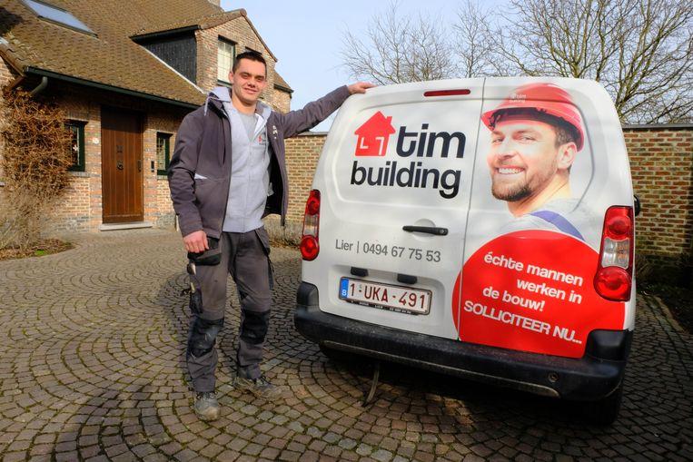 Tim Van Dessel nam met Tim Building de firma Faes over.