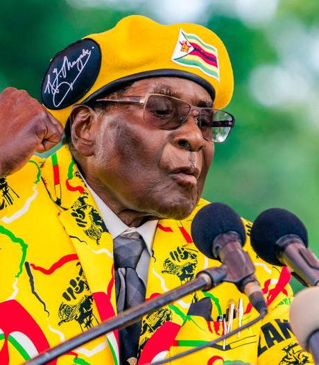 'Mugabe officieel afgezet als leider regeringspartij Zimbabwe'