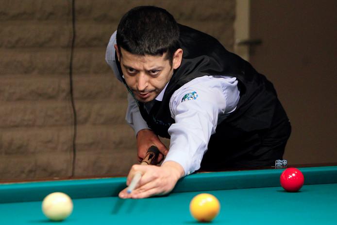 Verder dan de kwartfinale kwam Murat Naci Coklu niet in Seoul.