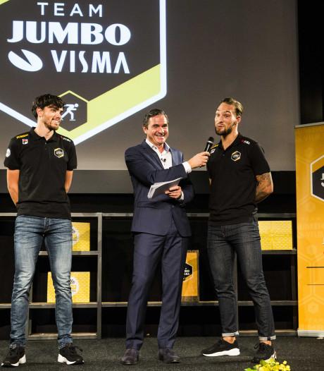 Volop gelach bij presentatie schaatsploeg Jumbo-Visma