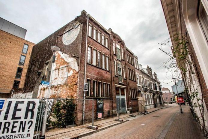 De voormalige kinderwagenfabriek wordt opgeknapt. Foto Jan van Eijndhoven