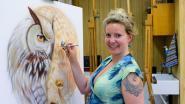 Airbrushkunstenaar Inge Kennis exposeert tot in Midden-Oosten