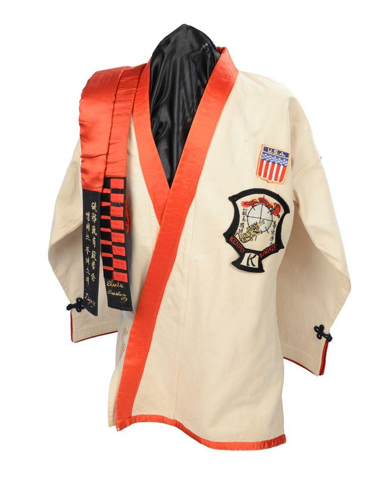 Het karatepak van Elvis. Beeld O2, Londen