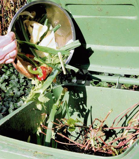 Groene container mag bij het vallen van het blad drie dagen  aan de straat staan