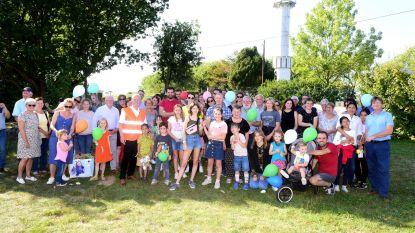 Vzw 'Ik Leef Verder' blijft even stilstaan in Pervivo-park, op top van Kesterheide
