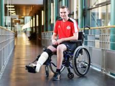 Remco van Bogget uit Someren overleefde val van 15 meter uit hoogwerker en vertelt nu zijn verhaal