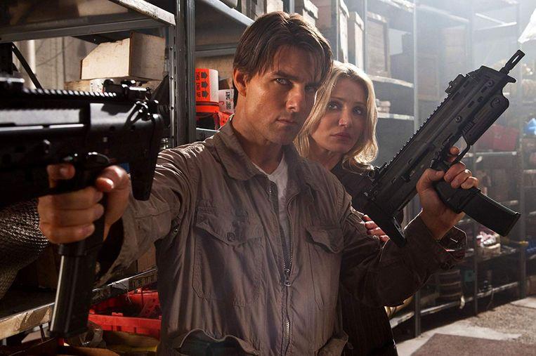 Tom Cruise en Cameron Diaz in Knight and Day van James Mangold. Beeld