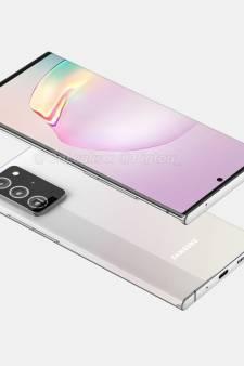 Is dit het ontwerp van de nieuwste Samsung Galaxy-smartphone?