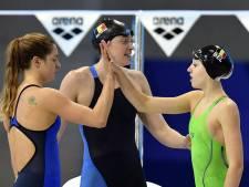 Jade Smits fait tomber le record de Belgique du 50m dos
