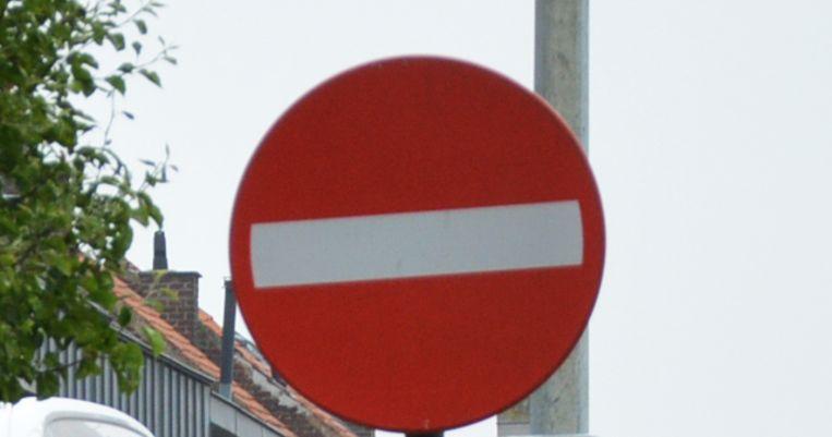 Illustratiebeeld verboden rijrichting