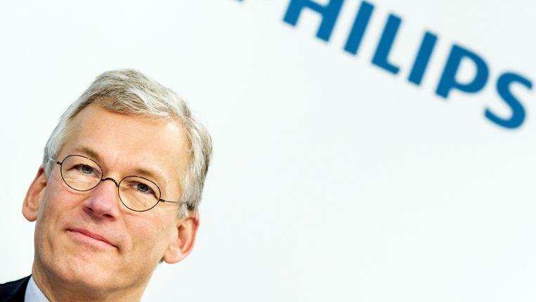Frans van Houten, bestuursvoorzitter Koninklijke Philips. Beeld anp