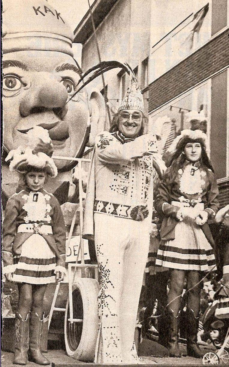 Kamiel Sergant in de jaren 70.