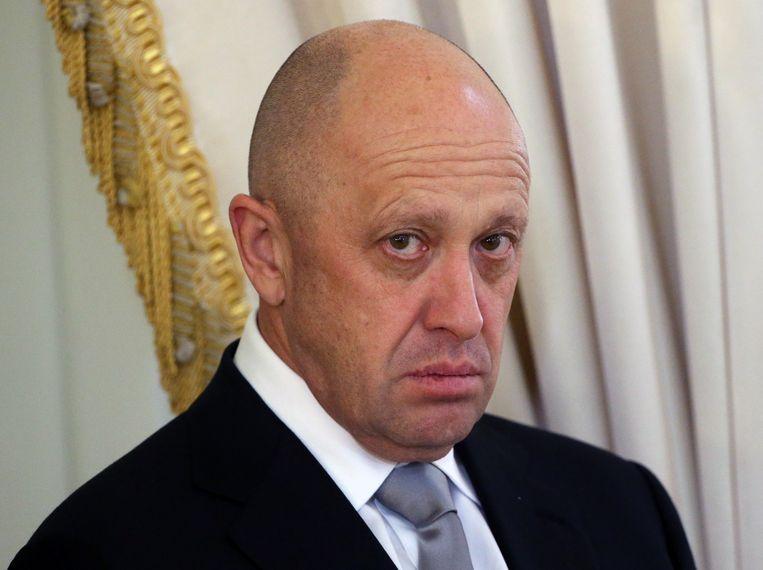 Jeveni Prigozjin kent Poetin nog uit Sint-Petersburg. Beeld Getty Images