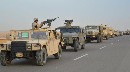 16 jihadisten gedood en 34 anderen opgepakt in Sinaï