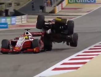 Formule 2-titel nog niet zeker: Mick Schumacher krijgt bolide op achtervleugel en moet vol aan de bak