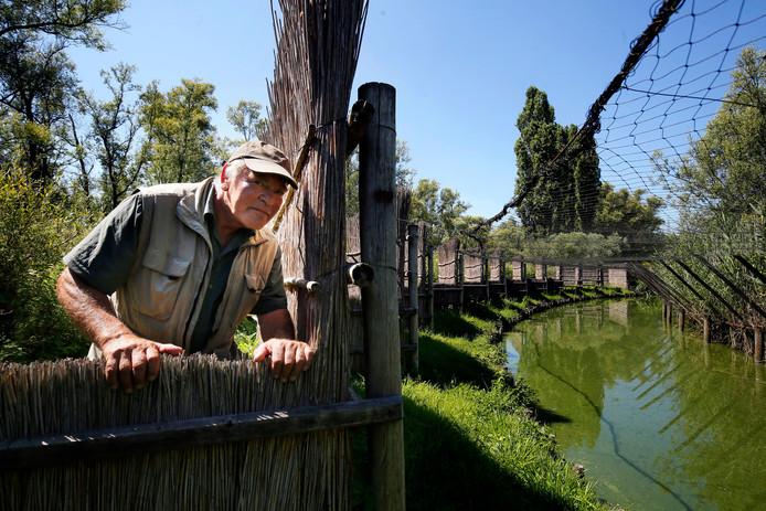 ,,Ik hou nog altijd van de rust en de grillen van de natuur waarmee ik opgroeide'', zegt eendenkooiker Jan Reuser.
