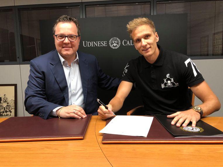 Teodorczyk tekent bij Udinese.