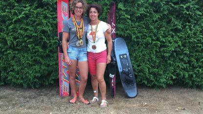 Moeder en dochter halen samen negen medailles