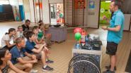 Leerlingen Omer Wattez verdiepen zich op klimaatdag in energie, mobiliteit, voeding en water