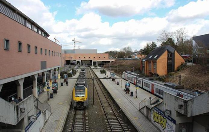 La gare de Louvain-la-Neuve.